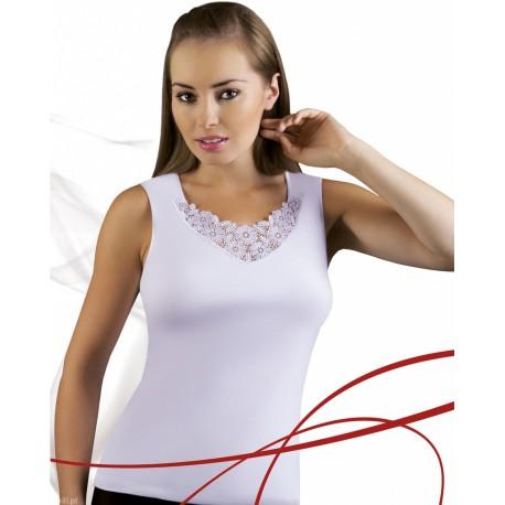 Emili koszulka damska bez rękawów duże rozmiary Berta 3XL