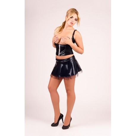 Andalea erotyczny półgorset ze spódniczką duże rozmiary model M/1029 od 38 do 56