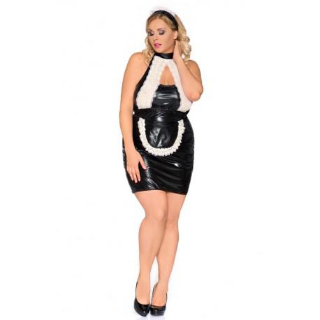 Andalea zmysłowa kelnereczka w dużych rozmiarach model Z/5010 rozmiary od 38 do 56