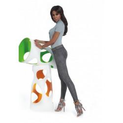 BasBleu Lydia elastyczne legginsy aksamitne duże rozmiary