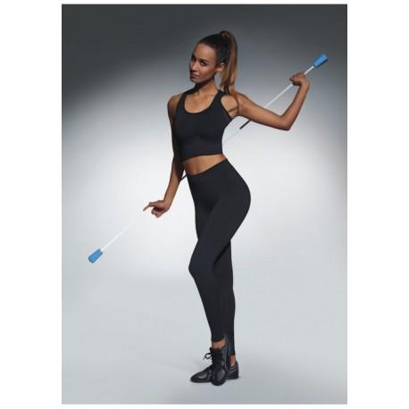 BasBleu ForceFit 90 damskie sportowe legginsy duże rozmiary długie
