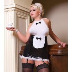 Andalea strój seksownej kelnerki duże rozmiary Luxe Waitress S/3035 od 38 do 56