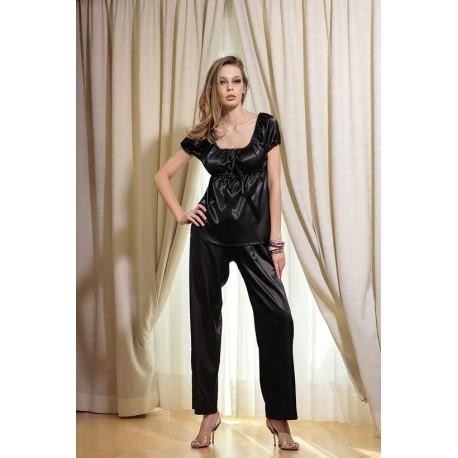 DKaren satynowy komplet ze spodniami duże rozmiary Anabel od S do 10XL