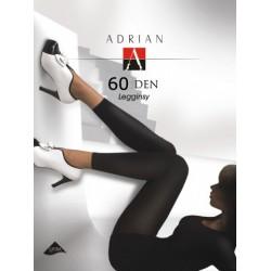 Adrian Legginsy duże rozmiary Michelle Plus Size 60 DEN Microfibra