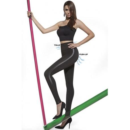 Bas Bleu Angelica modelujące legginsy Push Up duże rozmiary