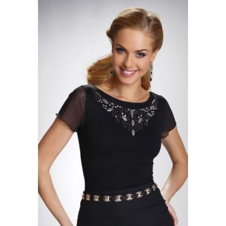 Eldar wiskozowa bluzka damska duże rozmiary model Goldi Plus