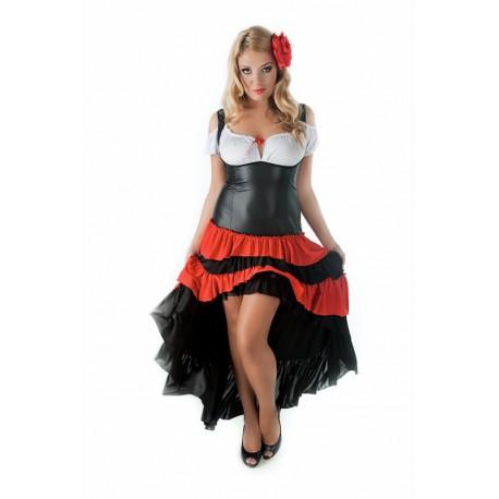 Andalea seksowna sukienka duże rozmiary SW/101 rozmiary od 38 do 56
