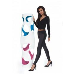 BasBleu Helen ciepłe legginsy z kieszonką w dużych rozmiarach