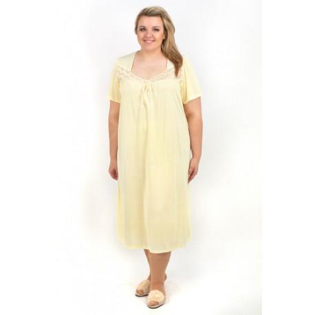Mewa 81693 Koszula Nocna w dużych rozmiarach z wiskozy od rozmiaru 46 do 58