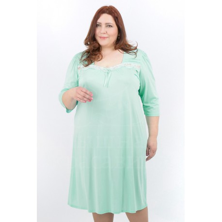 Mewa 3942 klasyczna koszula nocna w dużych rozmiarach od 46 do 56