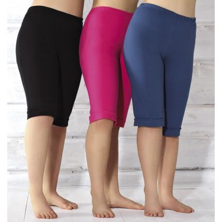 Andalea damskie bawełniane getry duże rozmiary model Capri do kolan