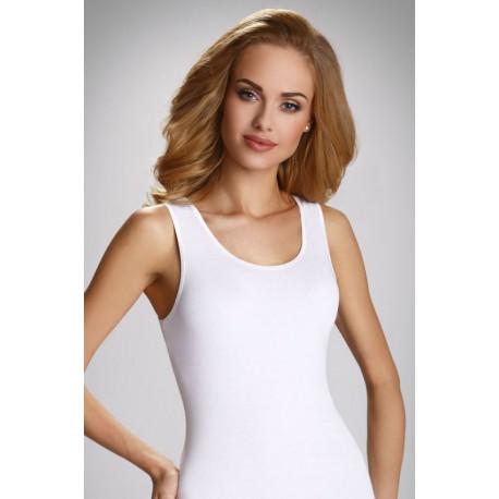 Eldar klasyczna koszulka damska na szerokim ramiączku duże rozmiary CLlarissa XXXL