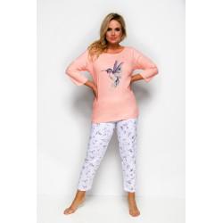Piżama bawełniana w dużych rozmiarach Aga XXXXL 4XL