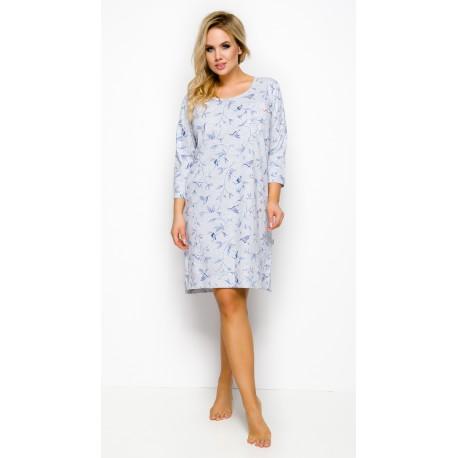 Taro koszula nocna bawełniana w dużych rozmiarach Mela 4XL