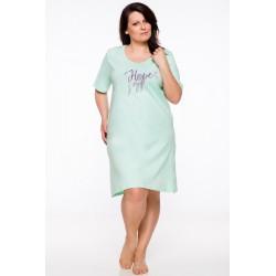 Taro jesienna koszula nocna z bawełny duże rozmiary VIVA MAXI DŁUGI RĘKAW od 2XL do 6XL