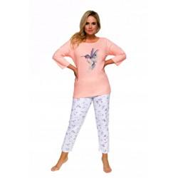 Taro Piżama z bawełny duże rozmiary Agnieszka