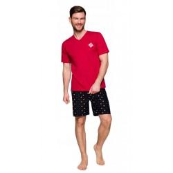 Taro duża piżama męska 100% Bawełna Borys 3XL 4XL