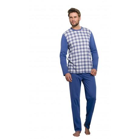 Taro Roman 194-18 Ciepła piżama męska w dużych rozmiarach do 6XL