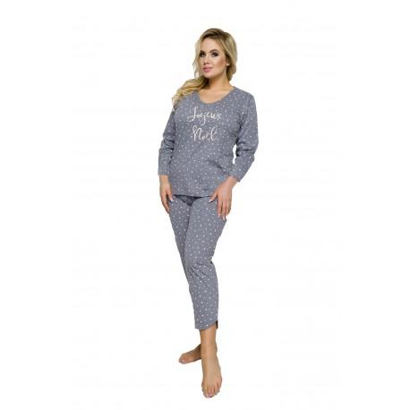 Ciepła piżama damska duże rozmiary  Jurata 4XL 5XL