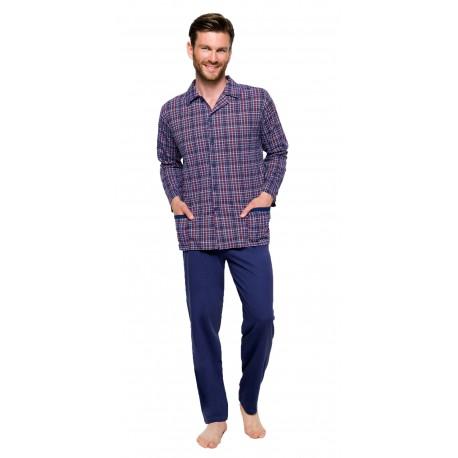 Taro Gracjan 788 duża męska piżama na guziki 4XL 5XL 6XL