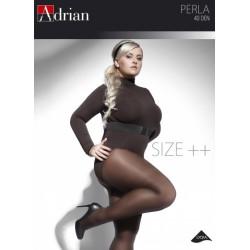 Adrian rajstopy gładkie w dużych rozmiarach Perla SIZE PLUS 40 DEN
