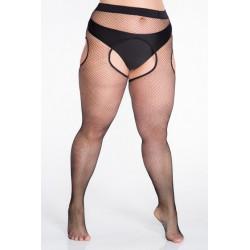 Lida 137 erotyczne kabaretki strip panty duże rozmiary 20 DEN