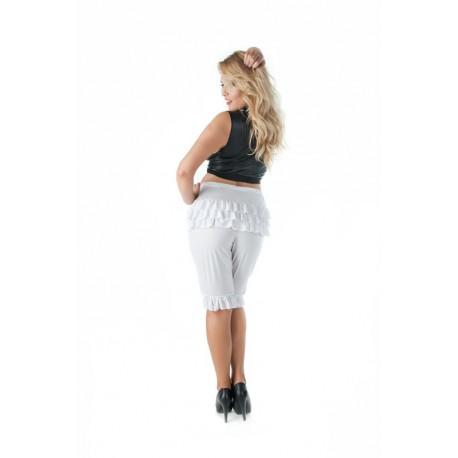 Andalea zmysłowe pantalony do kolan duże rozmiary SW/122 rozmiary od 38 do 56